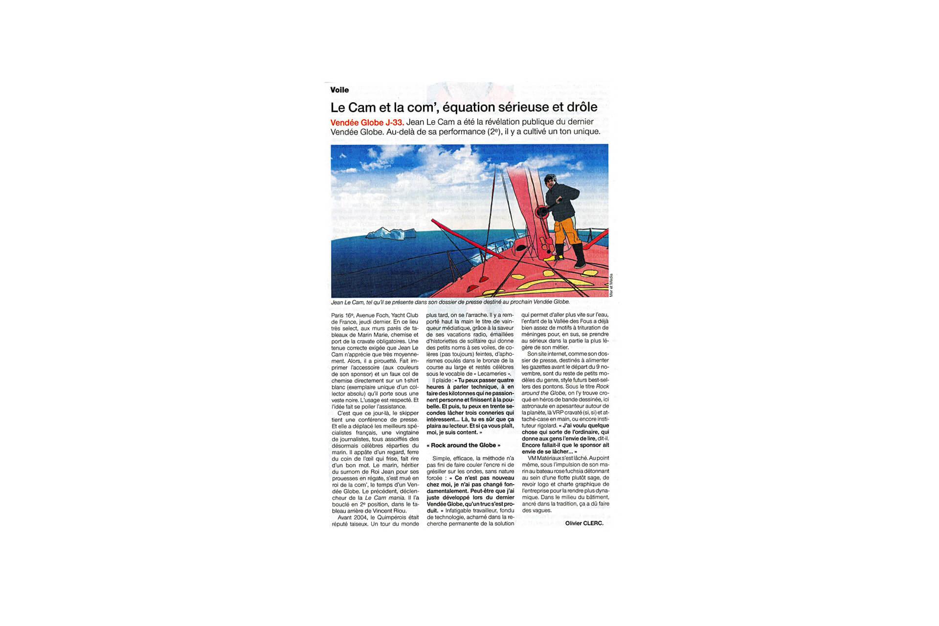 Dossier de Presse Jean Le Cam