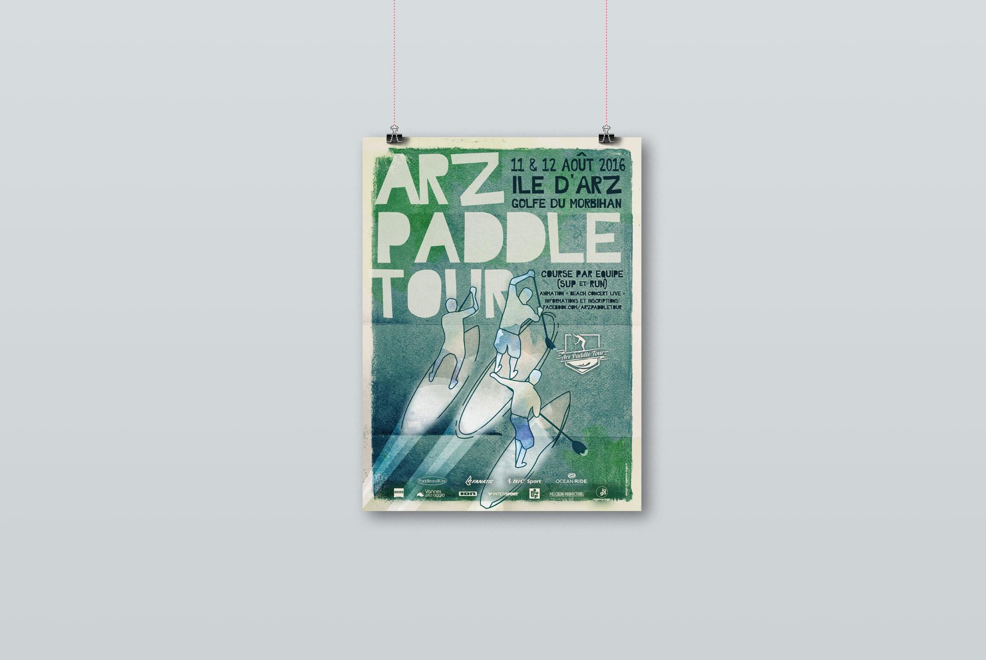 Affiche 2016 - Arz Paddle Tour