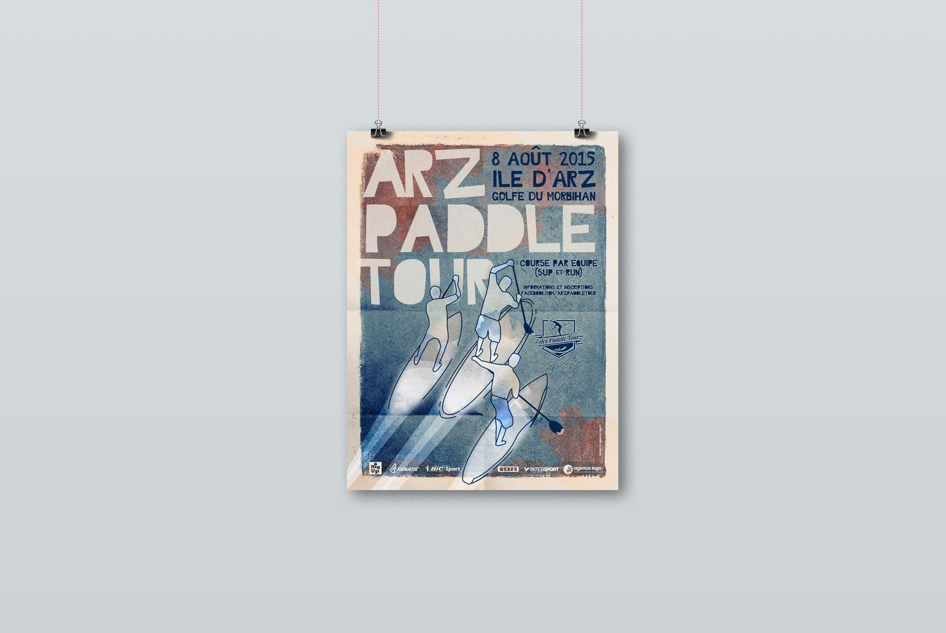identité visuelle-Arz Paddle Tour