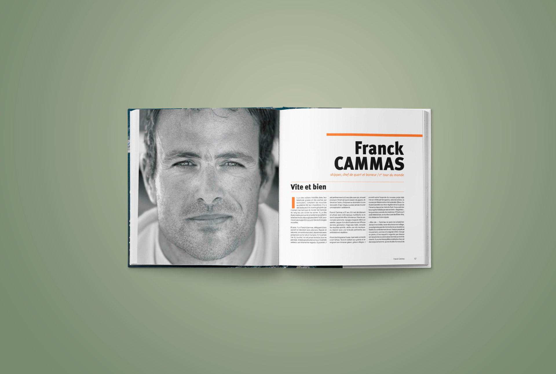 Livre Le Monde en 48 jours-Trimaran Groupama-Franck Cammas