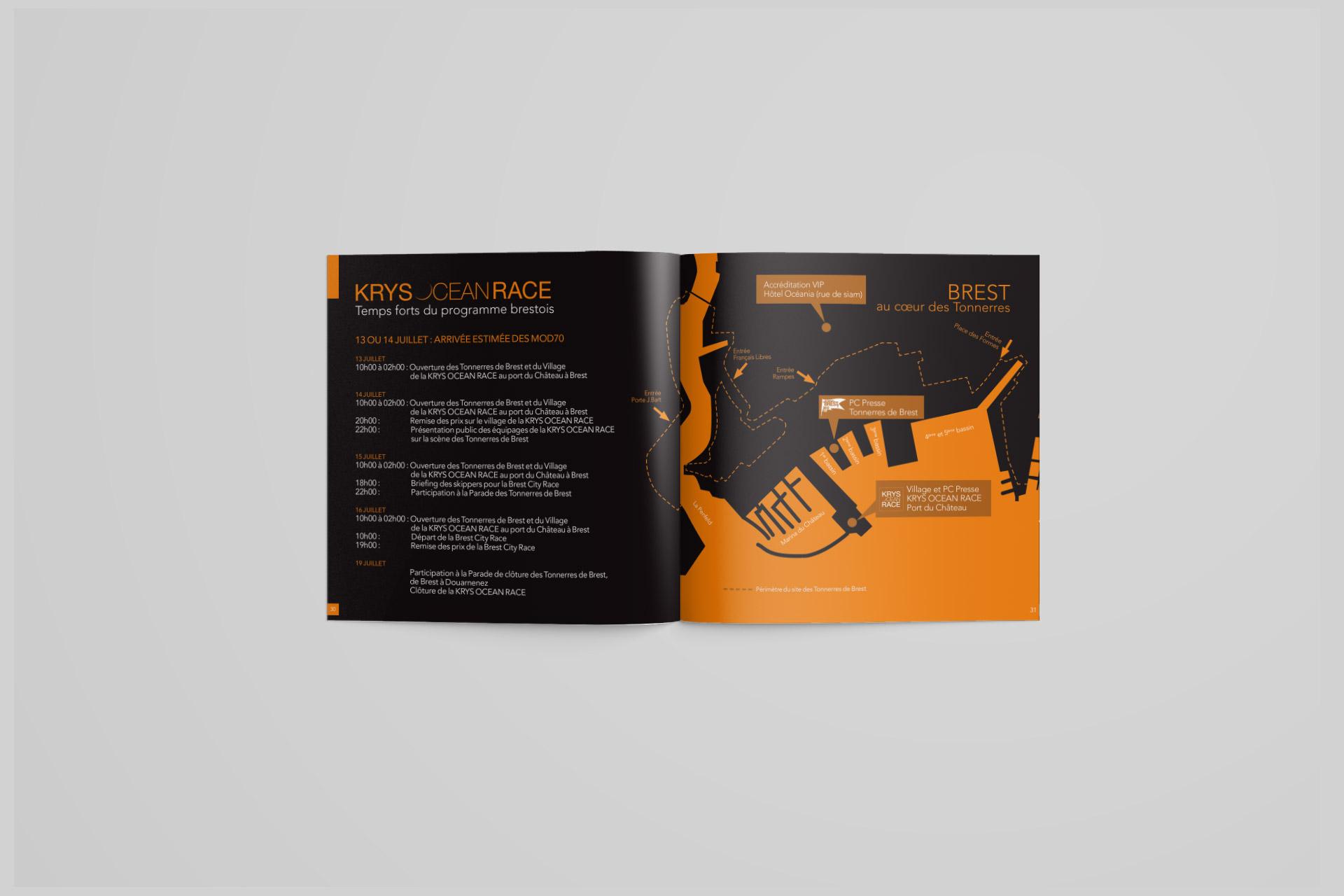 Identité visuelle-Krys Ocean Race