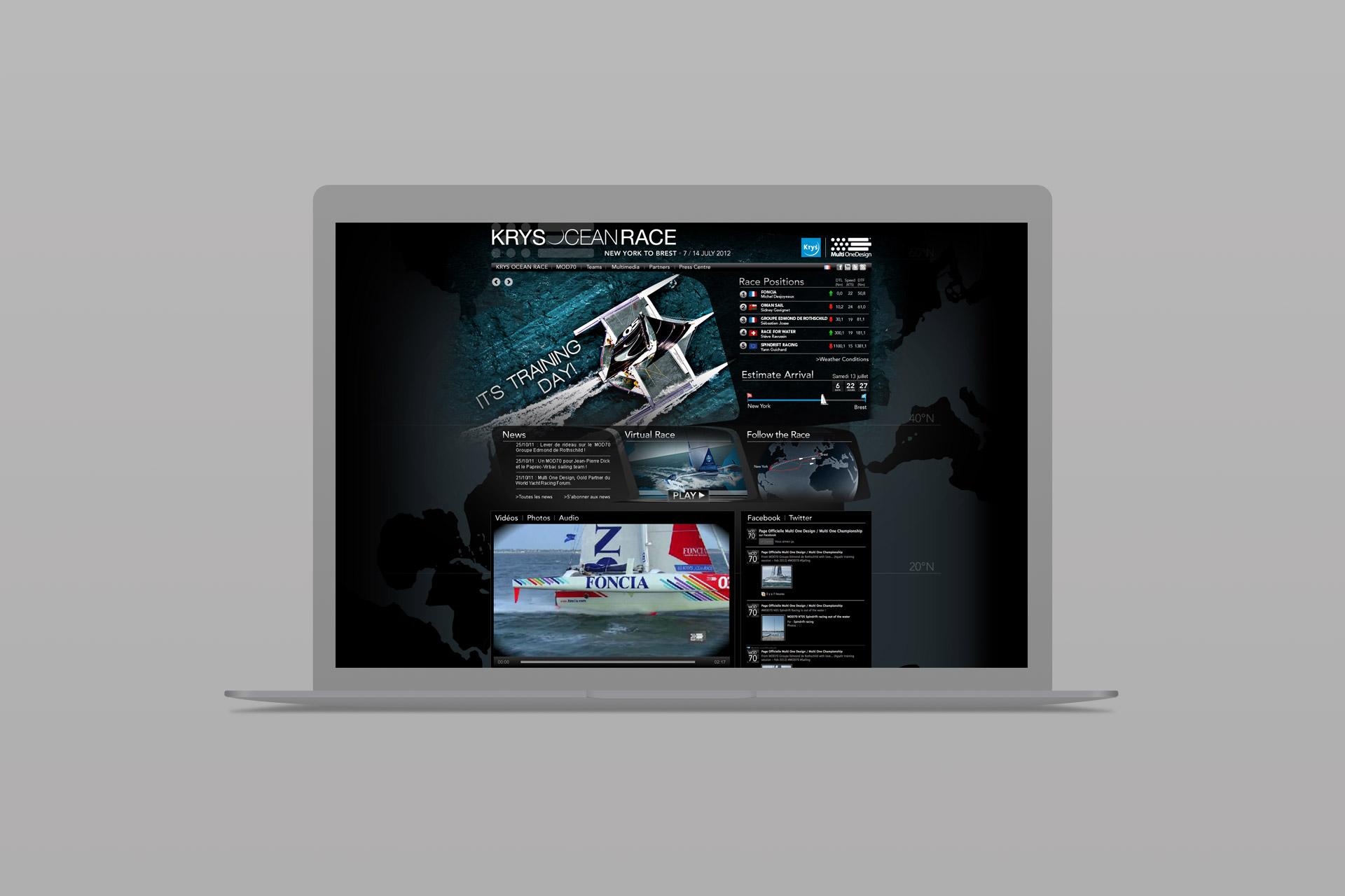 Site internet-Krys Ocean Race