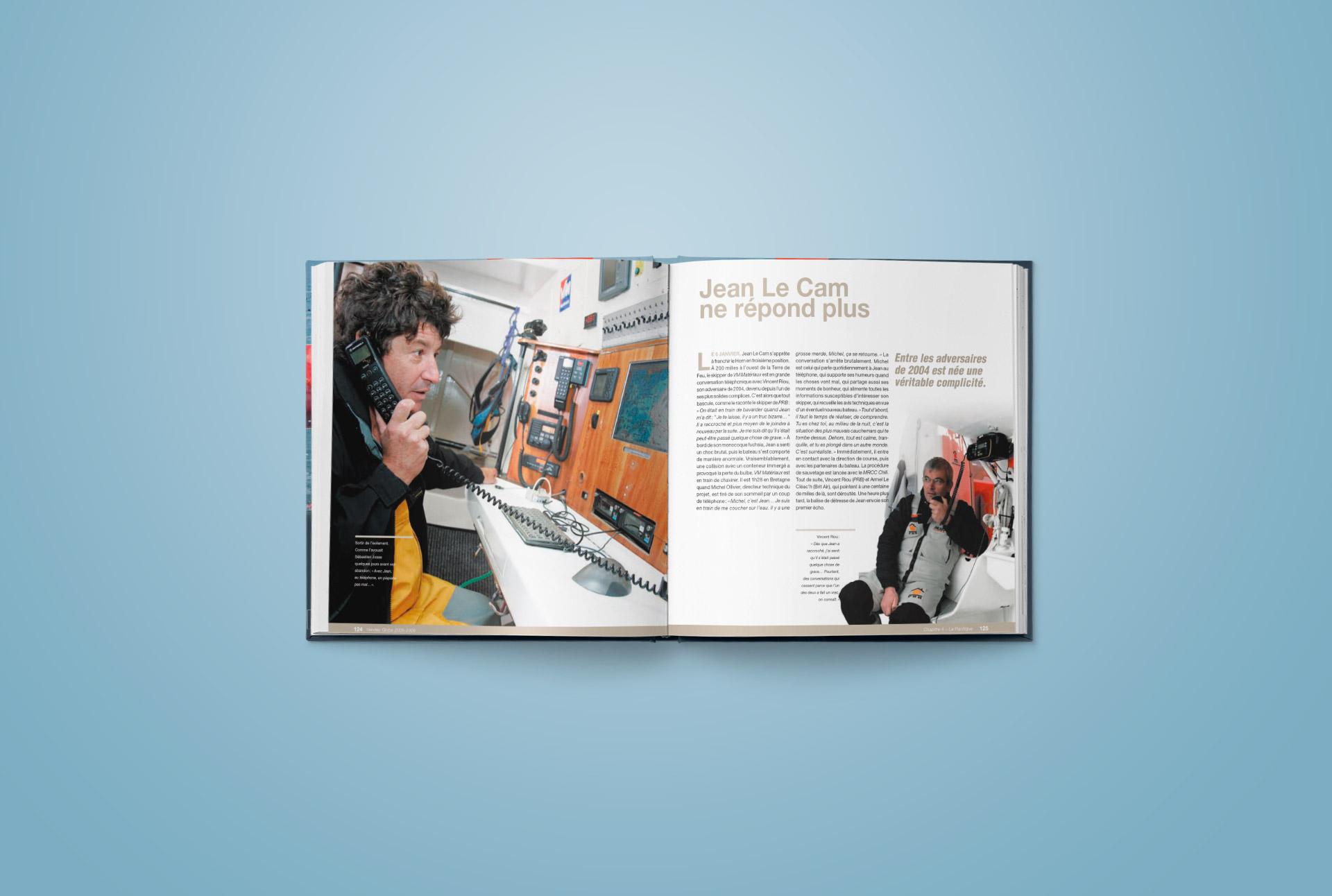 Livre Officiel Vendée Globe 2008-2009
