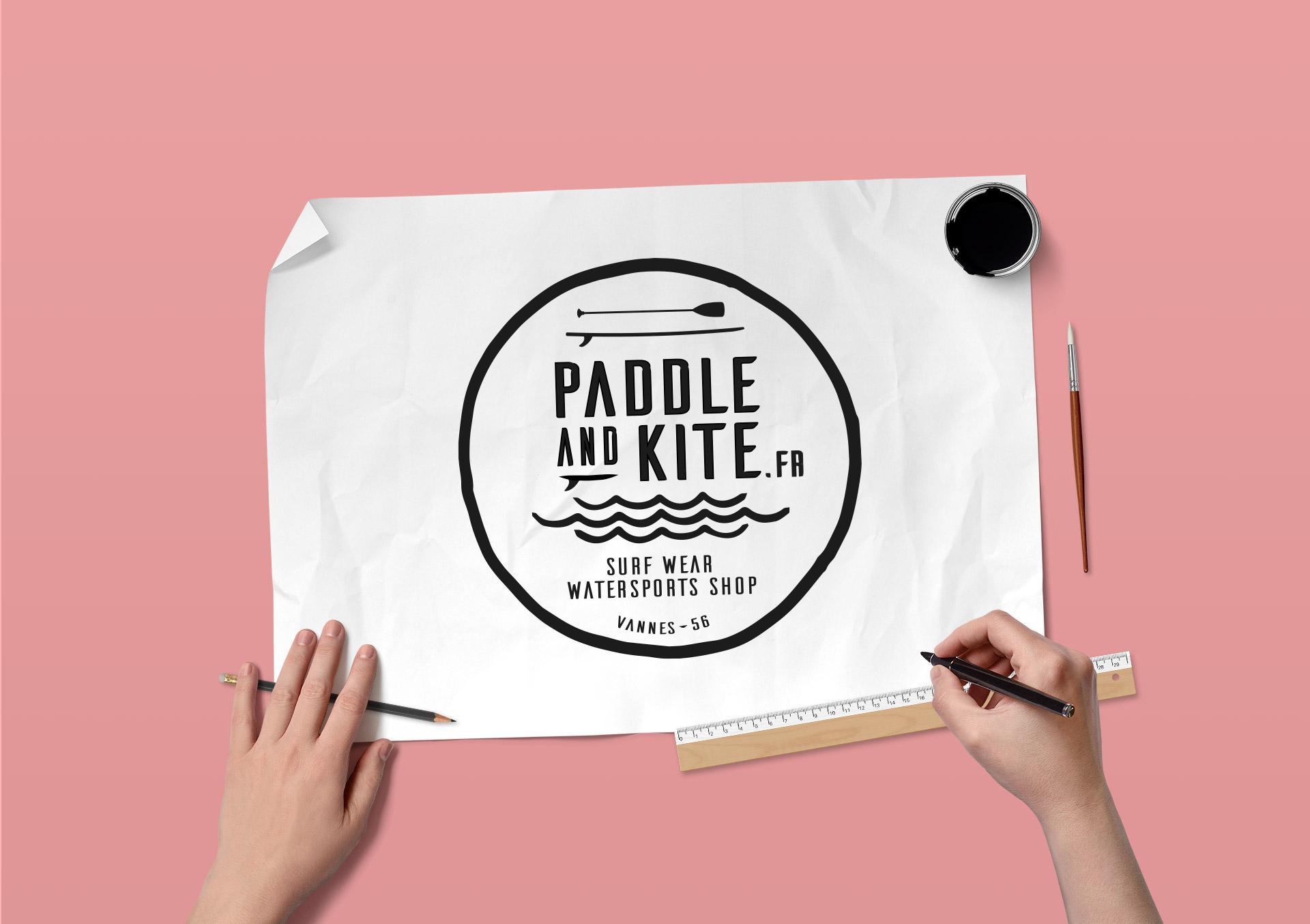 logo-paddleandkite-agence logo
