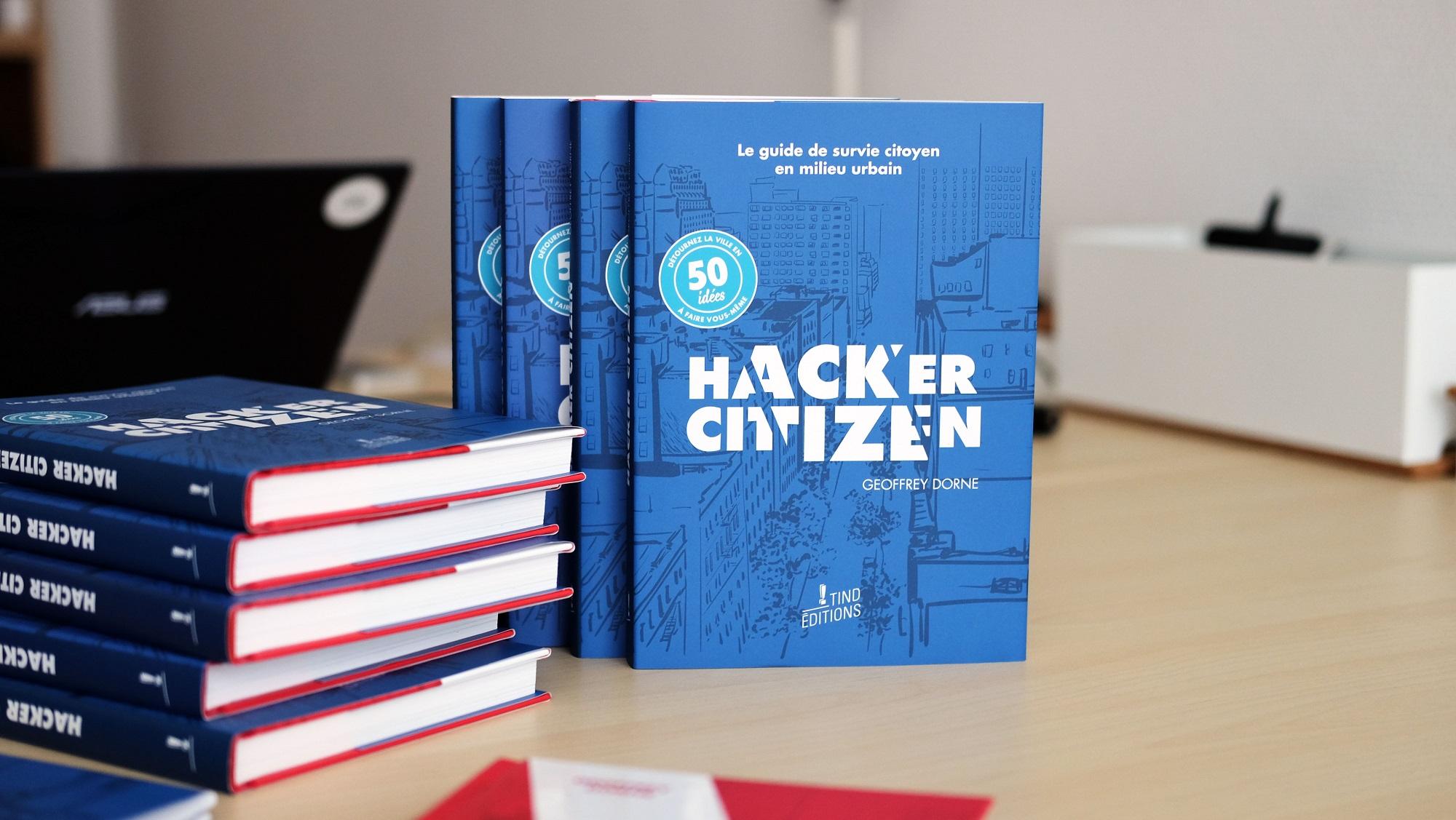 hacker-citizen-livre - ©Geoffrey Dorne
