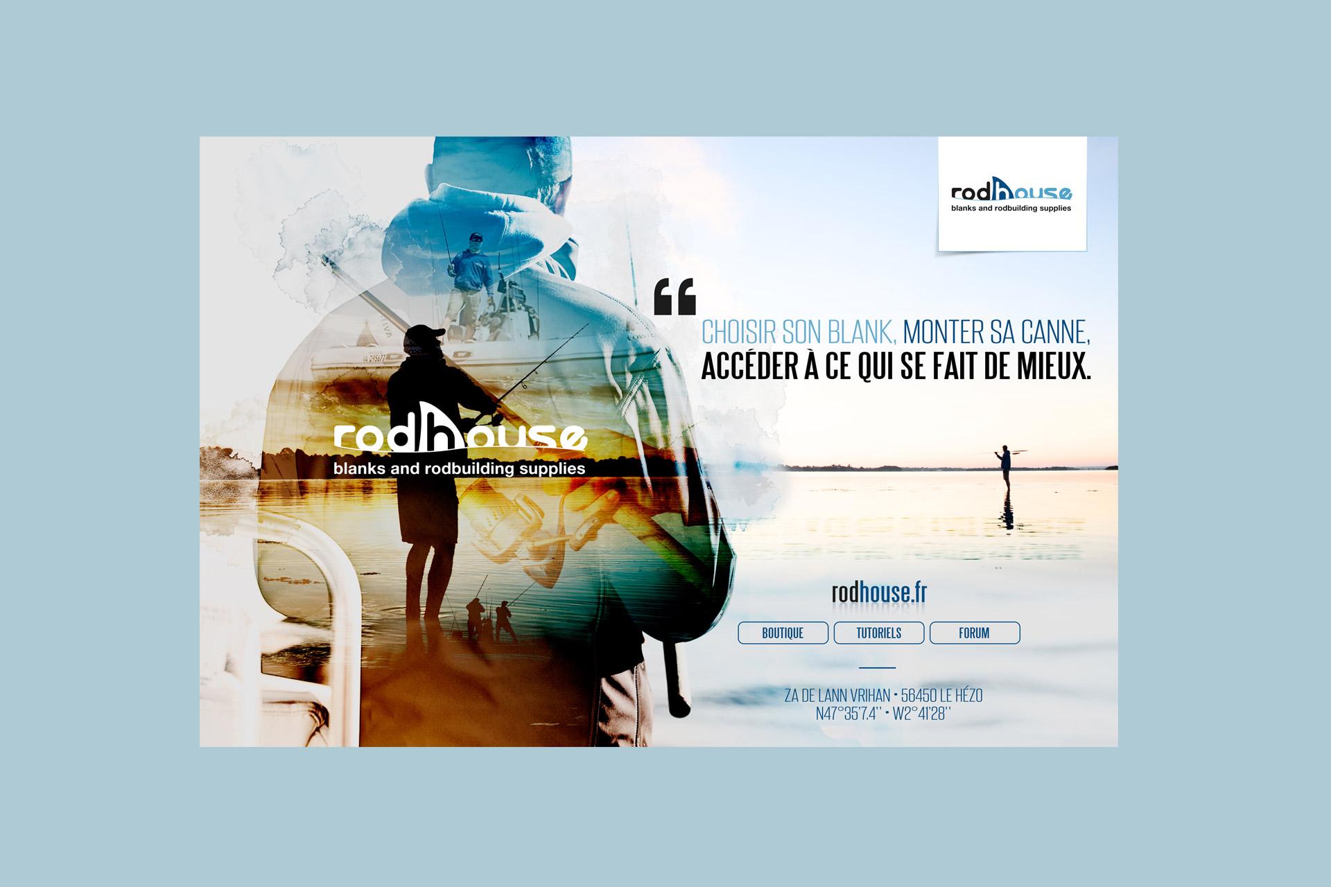 Publicité magazine-Rodhouse-agence logo