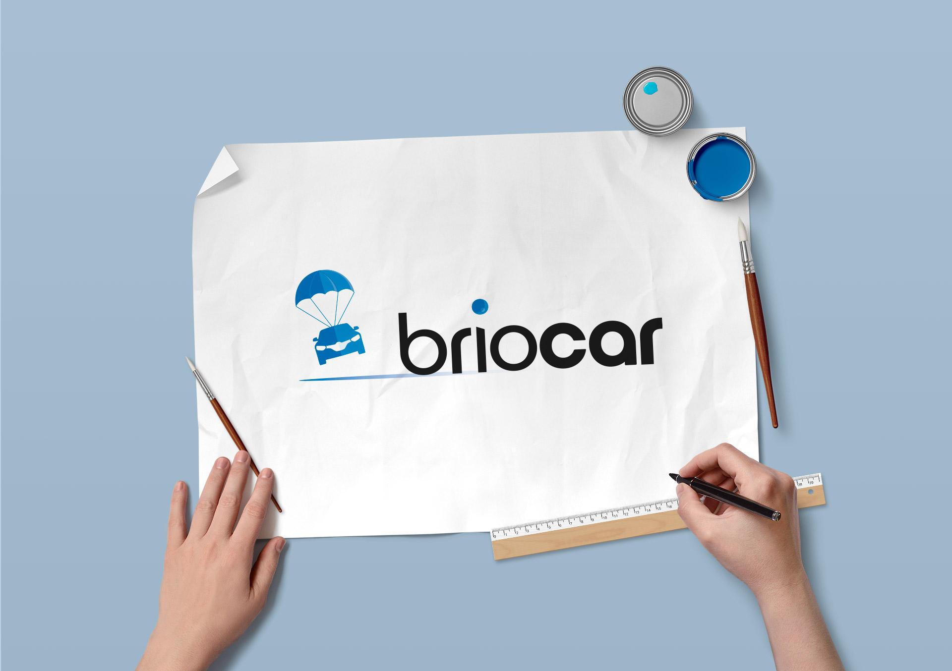 Identité visuelle, logo de Briocar